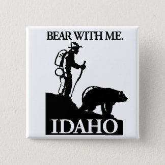 Points North Studio 'Bear With Me' Idaho Button