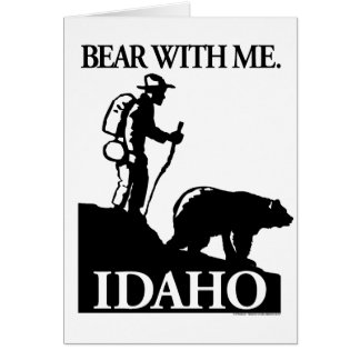Points North Studio 'Bear With Me' Idaho Card