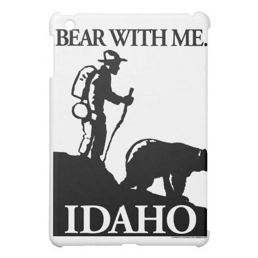 Points North Studio 'Bear With Me' Idaho Cover For The iPad Mini