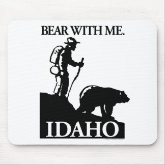 Points North Studio 'Bear With Me' Idaho Mouse Pad