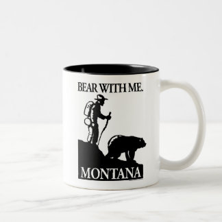 Points North Studio 'Bear With Me' Montana Two-Tone Coffee Mug