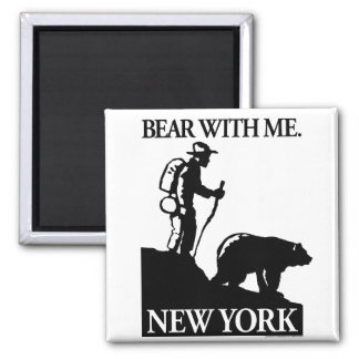 Points North Studio 'Bear With Me' New York Magnet