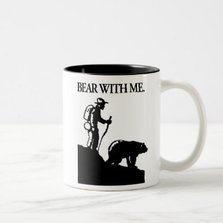 Points North Studio 'Bear With Me' Two-Tone Coffee Mug