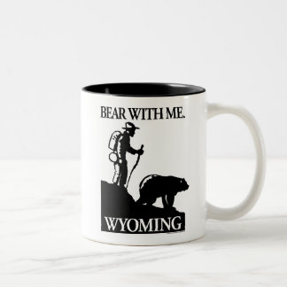 Points North Studio 'Bear With Me' Wyoming Two-Tone Coffee Mug
