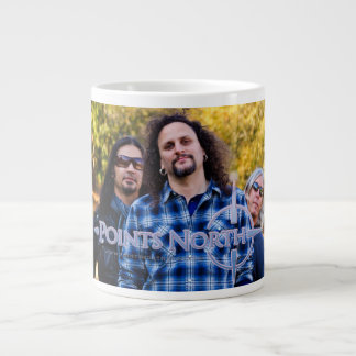 "Points North ""Trio"" Jumbo Mug 20 Oz Large Ceramic Coffee Mug"