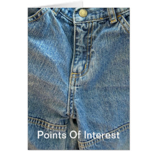 """""""Points Of Interest"""" Card"""