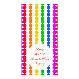 Points Rainbow Card
