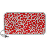 POINTs spots dab polka score circle red talk Portable Speakers