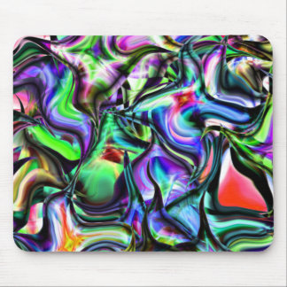 Pointy Abstract Things Mouse Pad