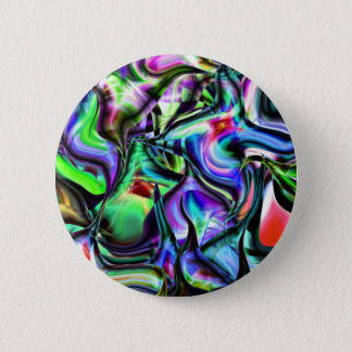 Pointy Abstract Things Pinback Button