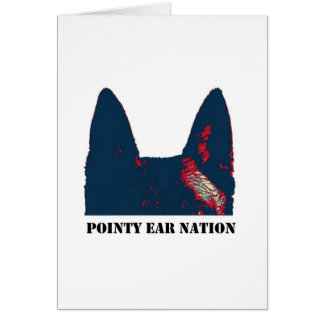 Pointy Ear Nation design Card
