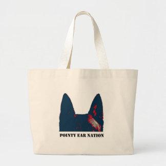 Pointy Ear Nation design Jumbo Tote Bag