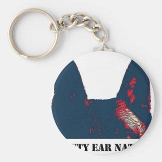 Pointy Ear Nation design Keychain