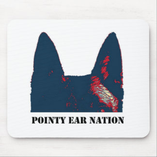 Pointy Ear Nation design Mouse Pad