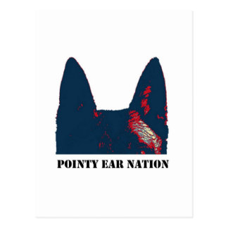 Pointy Ear Nation design Postcard