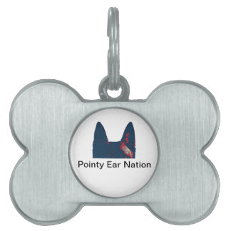 Pointy Ear Nation Pet Tag