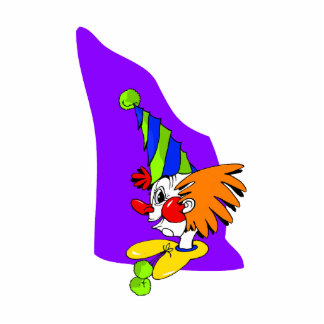 Pointy Hat Clown Statuette