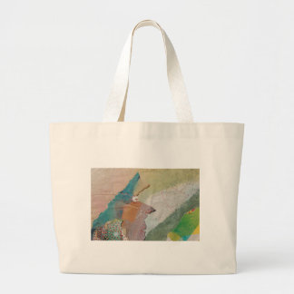 Pointy Nose Large Tote Bag