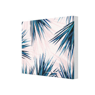 Pointy Palm wrapped canvas