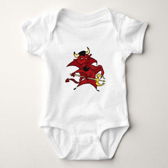 Pointy Red Devil Baby Bodysuit