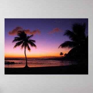 Poipu Beach - Kauai, Hawaii Poster