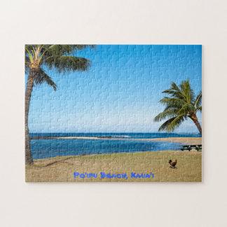Poipu Beach Kauai Jigsaw Puzzle