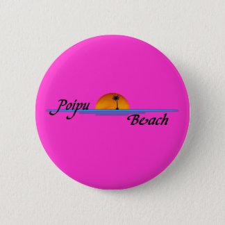Poipu Beach Sunset Button