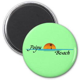 Poipu Beach Sunset Magnet