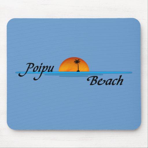 Poipu Beach Sunset Mousepad