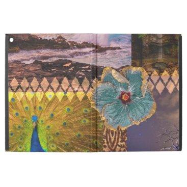 Beach Themed Poipu Sunrise, Kauai Hawaiian Collage iPad Pro Case