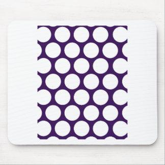 ¡Pois púrpura! Alfombrilla De Raton