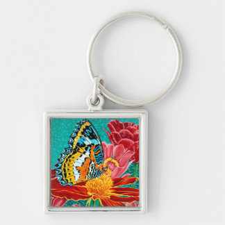 Poised Butterfly I Keychain