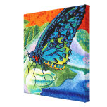 Poised Butterfly II Canvas Print