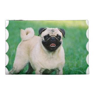 Poised Pug Travel Accessory Bag