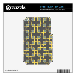 Poised Superb Charming Bright iPod Touch 4G Skins