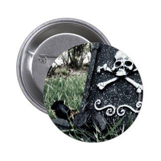 Poisened Rose Pinback Button