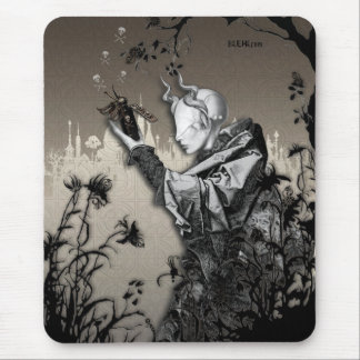 Poison and Blossoms Mouse Pad