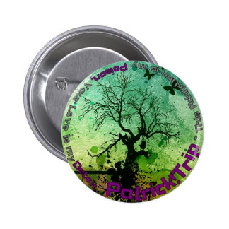 Poison and Detox Pinback Button