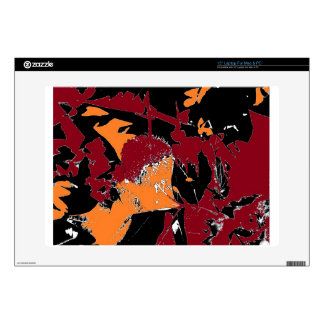 Poison Apple Abstract Laptop Decals