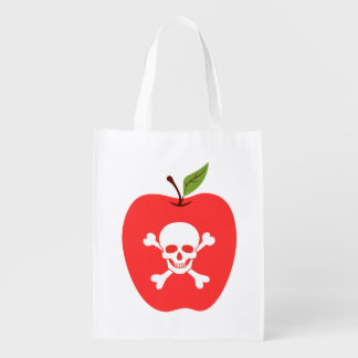 Poison apple grocery bags