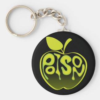 Poison Apple Keychain