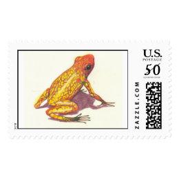 poison arrow frog postage