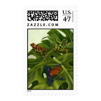 Poison Arrow Frogs Postage