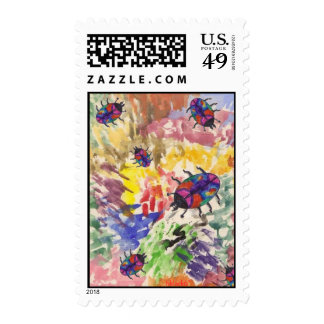 Poison Beetle/Splat Stamp