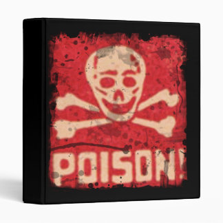 Poison Binder for School or Work or What ever!
