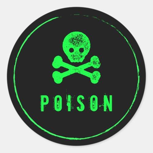 Poison Bottle _ Alcohol bottle label for Halloween