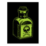 Poison Bottle Postcards