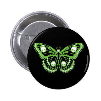 Poison Butterfly Button