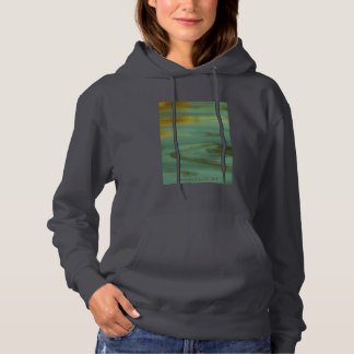 Poison Creek Wyoming Abstract Photography Design Hoodie