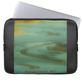 Poison Creek Wyoming Abstract Photography Design Laptop Sleeve